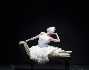 "Sarasota Ballet's Kate Honea in Sir Frederick Ashton's ""La Chatte"" Photo by Gene Schiavone"