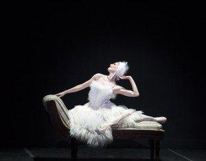 "Sarasota Ballet's Kate Honea in Sir Frederick Ashton's ""La Chatte"" Photo by Gene Schiavone"