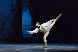 "Lasha Khozashvili in Marius Petipa's ""The Sleeping Beauty"" Photo by Liza Voll"