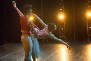 "Junxiong Zhao and Nina Matiashvili in John Cranko's ""Romeo and Juliet"" Photo by Brooke Trisolini"