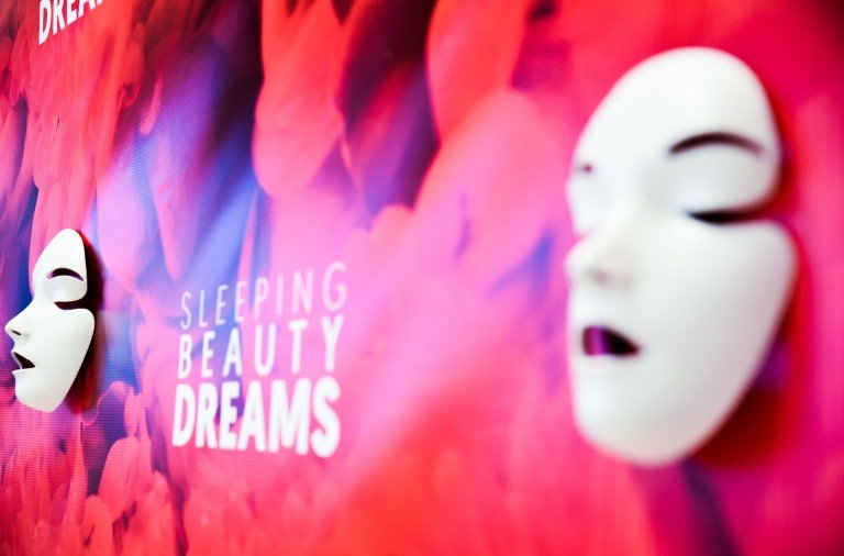 """Atmosphere at """"Meet The Artists Creating 'Sleeping Beauty Dreams'"""" program at the Guggenheim Museum on September 13, 2018  Photo by Presley Ann/PMC"""