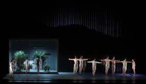 """Members of American Ballet Theatre in Wayne McGregor's """"AFTERITE"""" Photo by Marty Sohl"""