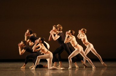 "ABT Apprentices and  members of ABT Studio Company  in Lauren Lovette's ""Le Jeune""   Photo by Marty Sohl"