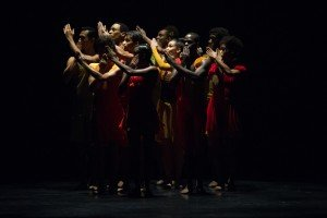 "Members of Dance Theatre of Harlem in Annabelle Lopez Ochoa's ""Balamouk"" Photo by Paula Lobo"