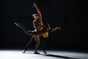 "Patricia Delgado and Justin Peck in ""Sleep Well Beast"" Photo by Paula Lobo"