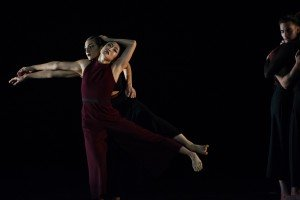 "Members of Tayeh Dance in Sonya Tayeh's ""Reclamation Map"" Photo by Paula Lobo"