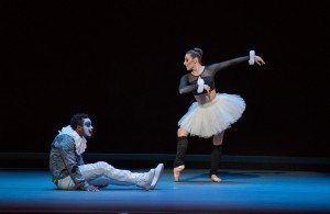 "Lil Buck and Tiler Peck in Jennifer Weber's ""Petrushka"" Photo by Stephanie Berger"