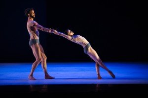 "James Whiteside and Cassandra Trenary in Gemma Bond's ""Inner Voices"" Photo by Paula Lobo"