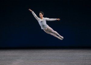 "Joaquin De Luz in George Balanchine's ""Tchaikovsky Pas de Deux"" Photo by Paul Kolnik"