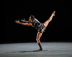 "Taylor Stanley in Kyle Abraham's ""The Runaway"" Photo by Paul Kolnik"