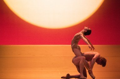 Sofiane Sylve and Tiit Helimets in Edwaard Liang's The Infinite Ocean. photo by Erik Tomasson