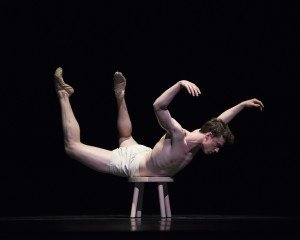 Benjamin Freemantle in Trey McIntyre's Your Flesh Shall Be a Great Poem, photo by Erik Tomasson