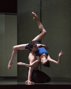 Yuan Yuan Tan and Carlo Di Lanno in Christopher Wheeldon's Bound To, photo by Erik Tomasson