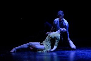 """Cassandra Trenary and James Whiteside  in Arthur Pita's """"The Tenant"""" Photo by Ian Douglas"""