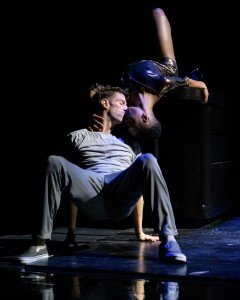 "James Whiteside  and Kibrea Carmichael  in Arthur Pita's ""The Tenant"" Photo by Ian Douglas"