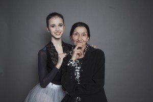 Maria Khoreva with her teacher at The Vaganova Academy, Lyudmila Kovaleva Photo by Ira Yakovleva Courtesy of The Mariinsky Ballet