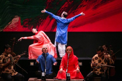 Mark Morris Dance Group & Silkroad Ensemble Layla and Majnun Photo: Beowulf Sheehan