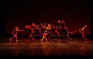 """Members of Owen/Cox Dance Group in Jennifer Owen's """"Morena"""" Photo by Elizabeth Stehling"""