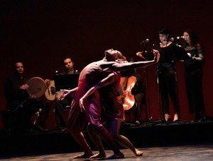 "Demetrius McClendon and Marlayna Locklear of Owen/Cox Dance Group in Jennifer Owen's ""Morena"" Photo by Elizabeth Stehling"