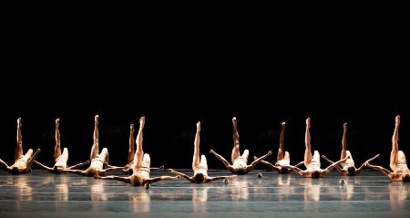 "Artists of Pennsylvania Ballet in ""Petite Mort"" Photo: Alexander Iziliaev"