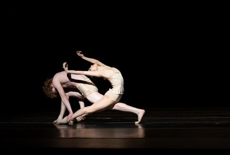 "Yuka Iseda and Russell Ducker in ""Petite Mort"" Photo: Alexander Iziliaev"