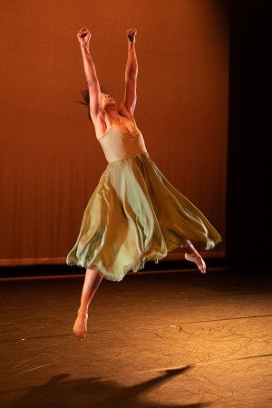 "Annique Roberts appearing at the Dance Magazine Awards in Ronald K. Brown's ""She Is Here"" Photo by Christopher Duggan"