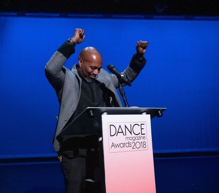 Dance Magazine Awardee Ronald K. Brown Photo by Christopher Duggan