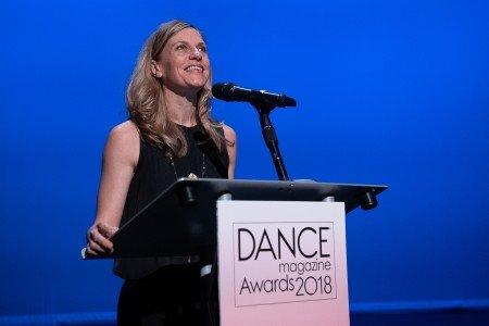Dance Magazine Awardee Crystal Pite Photo by Christopher Duggan
