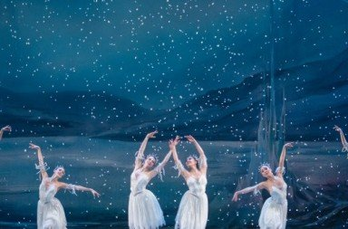 "Oregon Ballet Theatre and OBT2 dancers  in OBT's production of  ""George Balanchine's 'The Nutcracker'""   Photo by Yi Yin"