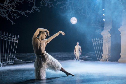 Matthew Bourne's Swan Lake, Will Bozier and Dominic North Photo: Johan Persson