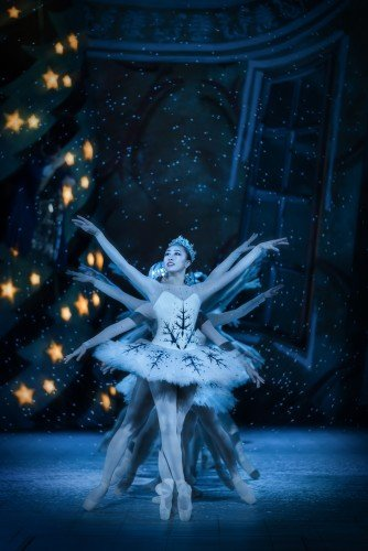 "Madeline Woo as lead snowflake in ""The Nutcracker"" Photo: Markus Gårder"