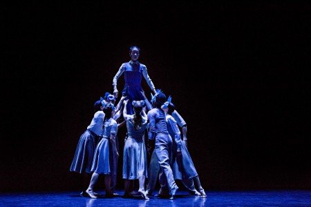 "Martha Graham Dance Company in Pontus Lidberg's ""Woodland"" Photo by Brigid Pierce"