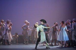 Alina Cojocaru and Fabian Reimair in Manon Phot: Laurent Liotardo