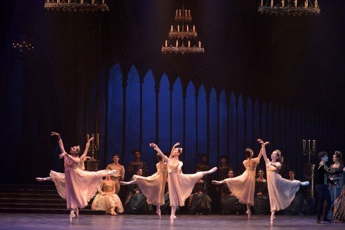 English National Ballet in Swan Lake Photo: Laurent Liotardo