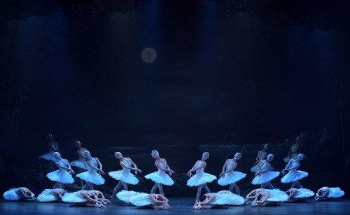 English National Ballet in Swan Lake Photo: Laurent Liotardo