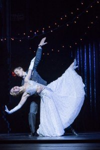 Ashley Shaw and Andrew Monaghan in Matthew Bourne 's Cinderella, photo by Johan Persson