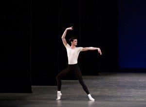 "Peter Walker in George Balanchine's ""Agon"" Photo by Paul Kolnik"