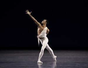 """Taylor Stanley in George Balanchine's """"Apollo"""" Photo by Erin Baiano"""