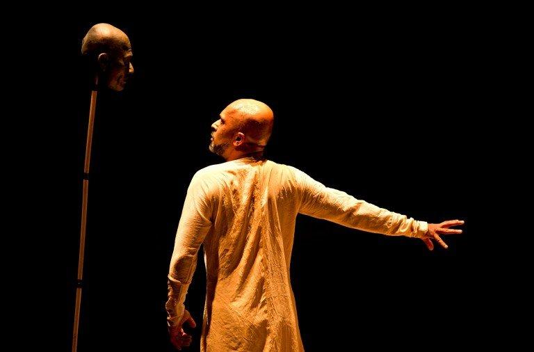 Akram Khan in Until the Lions Photo: Jean Louis Fernandez