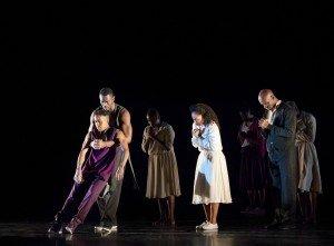 Alvin Ailey American Dance Theater in Rennie Harris's Lazarus, photo by Paul Kolnik