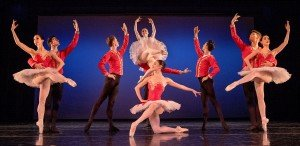 "Diablo Ballet dancers in the Finale from Marius Petipa's ""Paquita"" Photo by Bilha Sperling"