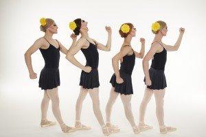 "Les Ballets Trockadero de Monte Carlo in Peter Anastos's ""Go For Barocco"" Photo by Zoran Jelenic"