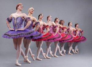 """Les Ballets Trockadero de Monte Carlo in Marius Petipa's """"Paquita"""" Photo by Sascha Vaughan"""