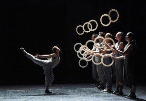 Gandini Juggling & Alexander Whitley - SPRING Photo: Simon Carter