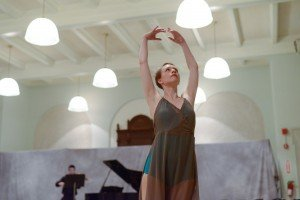 "Elizabeth Brown  in Miro Magloire's ""Morning Song"" Photo by Nir Arieli"