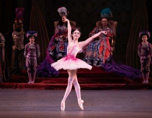"Mira Nadon and members of New York City Ballet in Peter Martins's ""The Sleeping Beauty"" Photo by Erin Baiano"