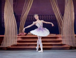 "Miriam Miller in Peter Martins's ""The Sleeping Beauty"" Photo by Paul Kolnik"