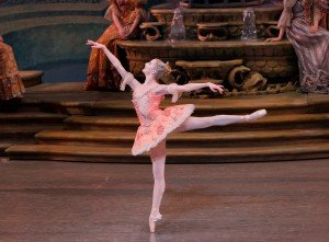"Sterling Hyltin in Peter Martins's ""The Sleeping Beauty"" Photo by Paul Kolnik"