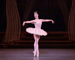"Indiana Woodward in Peter Martins's ""The Sleeping Beauty"" Photo by Erin Baiano"