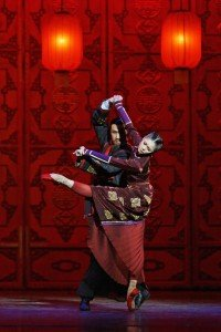 National Ballet of China in Raise the Red Lantern, photo courtesy of the Company